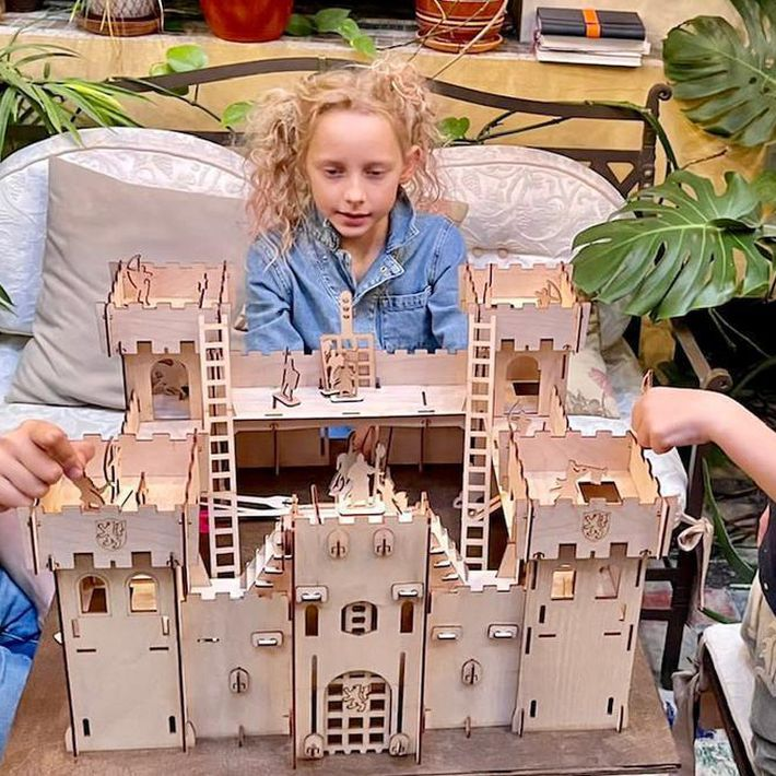 Групповое занятие по образовательной программе «Давай построим крепость!»