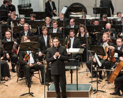 Трансляция концерта Государственного академического симфонического оркестра России им. Е.Ф. Светланова