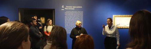 29 апреля  и 1 мая состоятся лекции по выставке Б.М. Кустодиева в рамках программы «Прогулки с куратором»