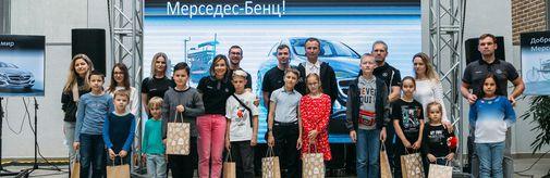 Представители завода Mercedes-Benz провели интерактивное занятие для посетителей «Экспонариума»