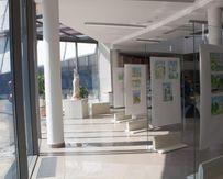 До 8 сентября открыта выставка рисунков «Летний пленэр»