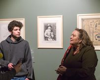 25 декабря пройдет очередная встреча с куратором выставки  «Шагал: между небом и землей»