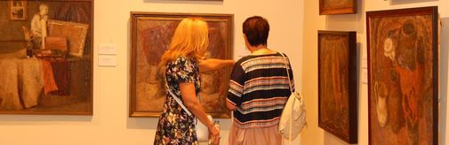 В МВК «Новый Иерусалим» открылась выставка «Натюрморт, интерьер» творческой династии Гландиных-Салганик