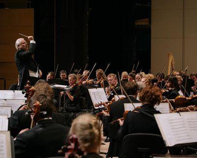 Трансляция видеозаписи концерта Академического симфонического оркестра Московской филармонии