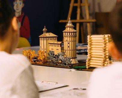 «Стены древнего кремля». Образовательное занятие для школьников