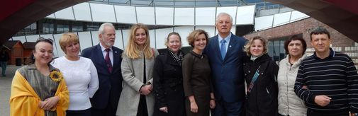 "Delegation from slovakia visited museum ""new jerusalem"""