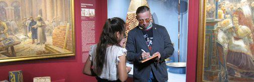 Иван Охлобыстин посетил музей «Новый Иерусалим»