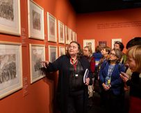 В музее «Новый Иерусалим» состоялась встреча с куратором выставки «Шагал: между небом и землей»