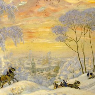 «Венец земного цвета» Бориса Кустодиева