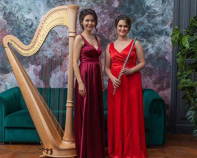 Концерт «Картинки с выставки. Арфа и флейта»