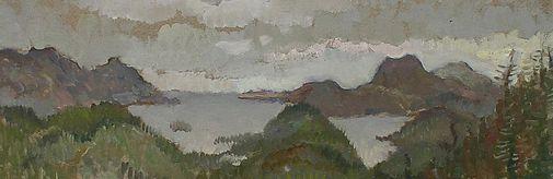 Навыставке «Другие берега» впервые в музее «Новый Иерусалим» представлены работы уникального художника Эрика Прена