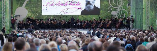 Завершился open-air фестиваль «ЛЕТО. МУЗЫКА. МУЗЕЙ»