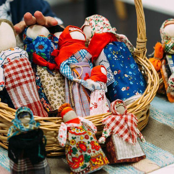 «Русская тряпичная кукла». Мастер-класс для детей и родителей
