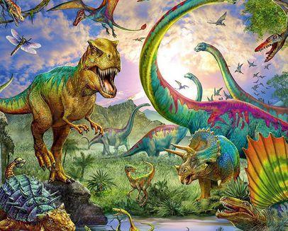 Групповое занятие по образовательной программе «Динозавры»