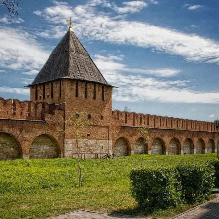 Групповое занятие по образовательной программе «Стены древнего кремля»