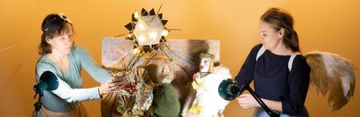 В музее «Новый Иерусалим» прошел показ детского спектакля-мистерии «История Рождества»