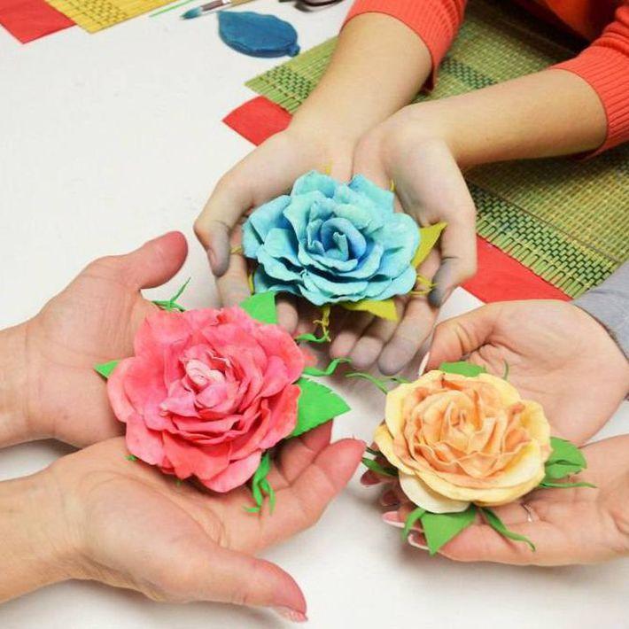 Творим с детьми. Такие разные цветы