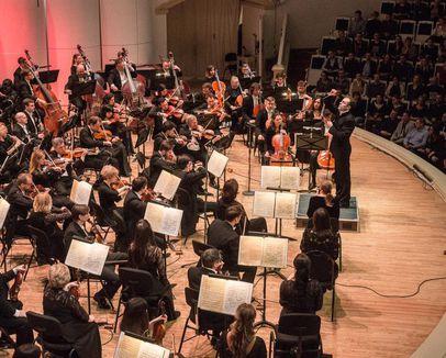 Трансляция концерта Академического симфонического оркестра Московской филармонии