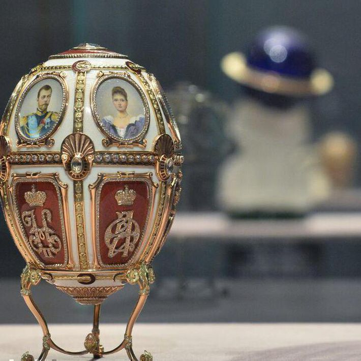 "Exhibition ""fabergé style. excellence beyond time"""