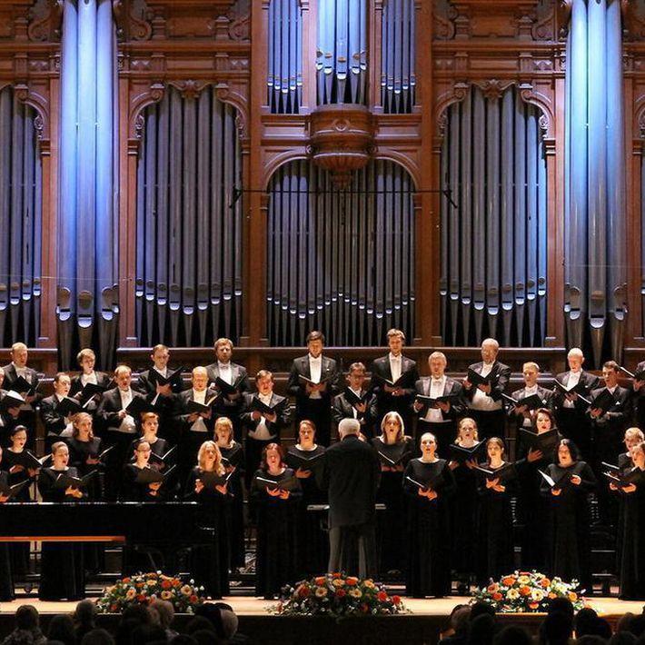 Трансляция концерта Государственной академической симфонической капеллы России