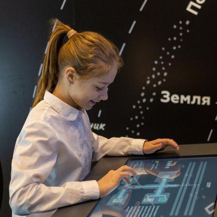 Групповое занятие по образовательной программе «Путешествие на космическую станцию»