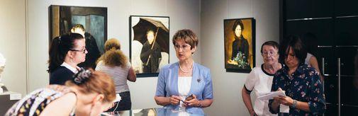 27 июля в 12.00 состоится лекция по выставке «Избранница судьбы»