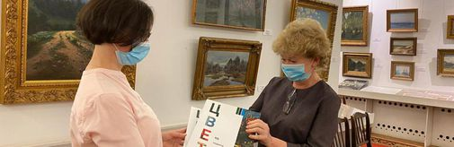Картины с выставки «Цвет. 90 шедевров из музеев Подмосковья» вернулись домой