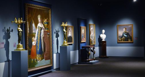 Russian and western european art collection