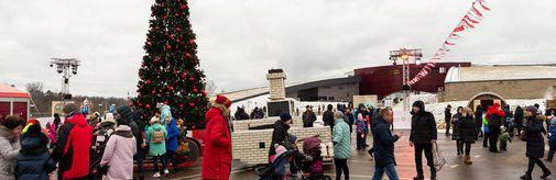 Около 30тысяч человек приняли участие вфестивале «Сказочное Рождество»