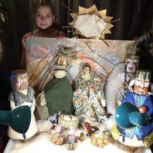 Интерактивный кукольный спектакль-мистерия «История Рождества»