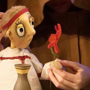 Кукольный спектакль «Аленький цветочек»