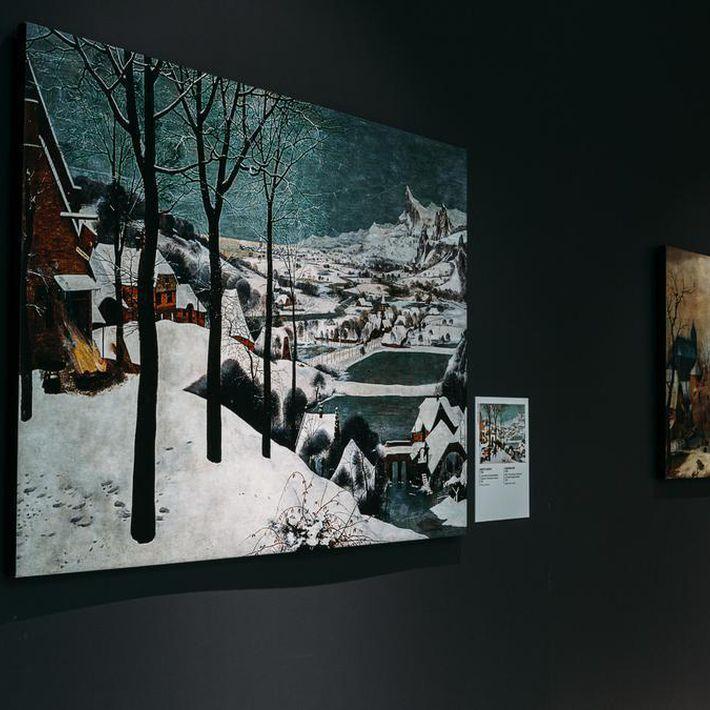 Мастер-классы «Рисуем вместе» на выставке «Скрытые пространства»